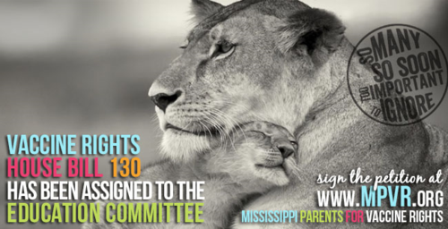 Mississippi vaccine rights house bill 130 hb130